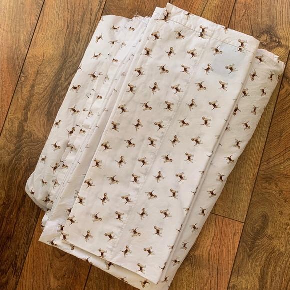 Beagle Sheet Set